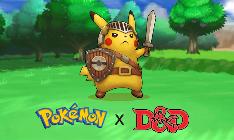 Pokemon D&D dnd 5e