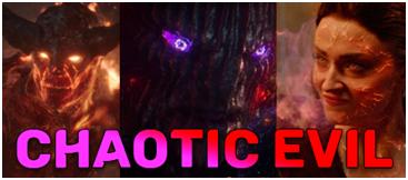 chaotic evil D&D dnd aligment marvel MCU