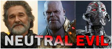 neutral evil D&D dnd aligment marvel MCU