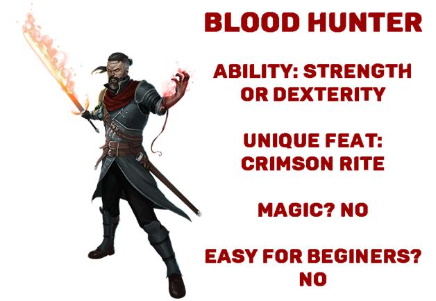 D&D dnd blood hunter class