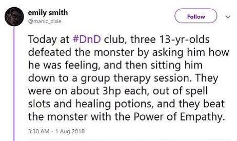 D&D dnd empathy