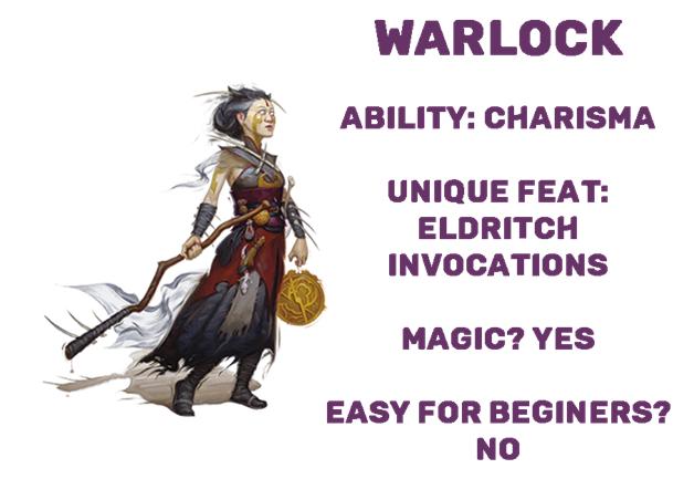 D&D dnd warlock class