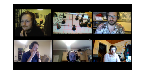 D&D video conference