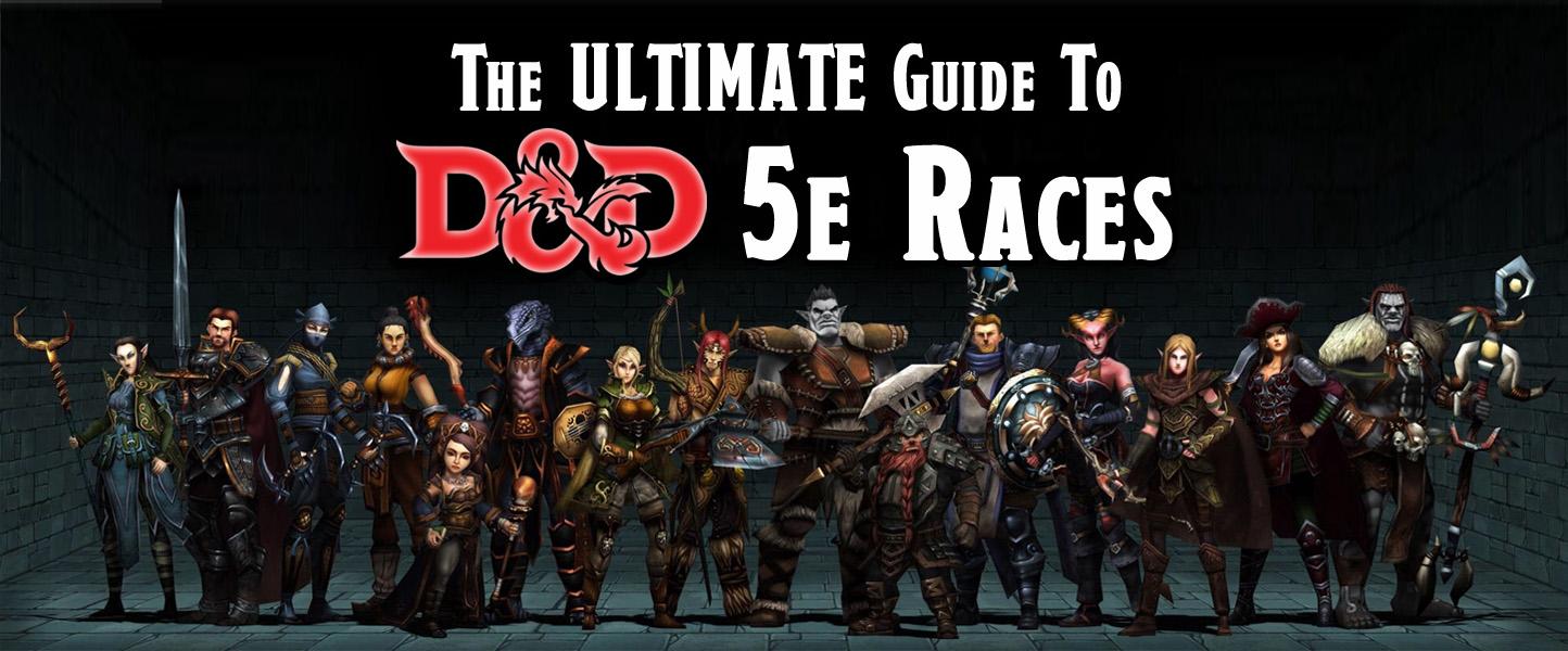 All Races Dnd 5e